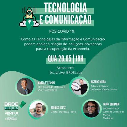 BRDE Labs LIVE TECNOLOGIA E COMUNICAÇÃO